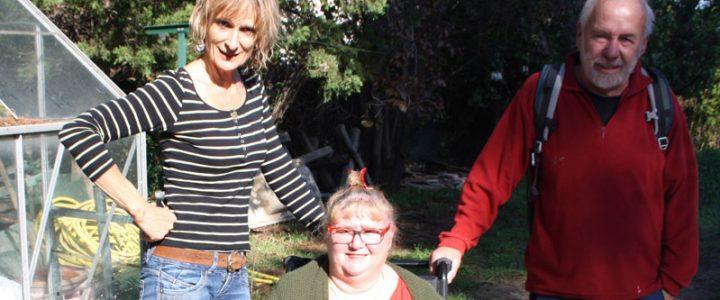Rencontre avec Anne pour le projet de jardin partagé à Bouc Bel Air
